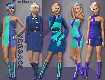 Женская Одежда Для Симс 3