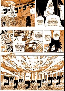 Naruto Shippuden Mangá 561: O poder em um nome
