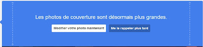 Comment chager la couverture google plus
