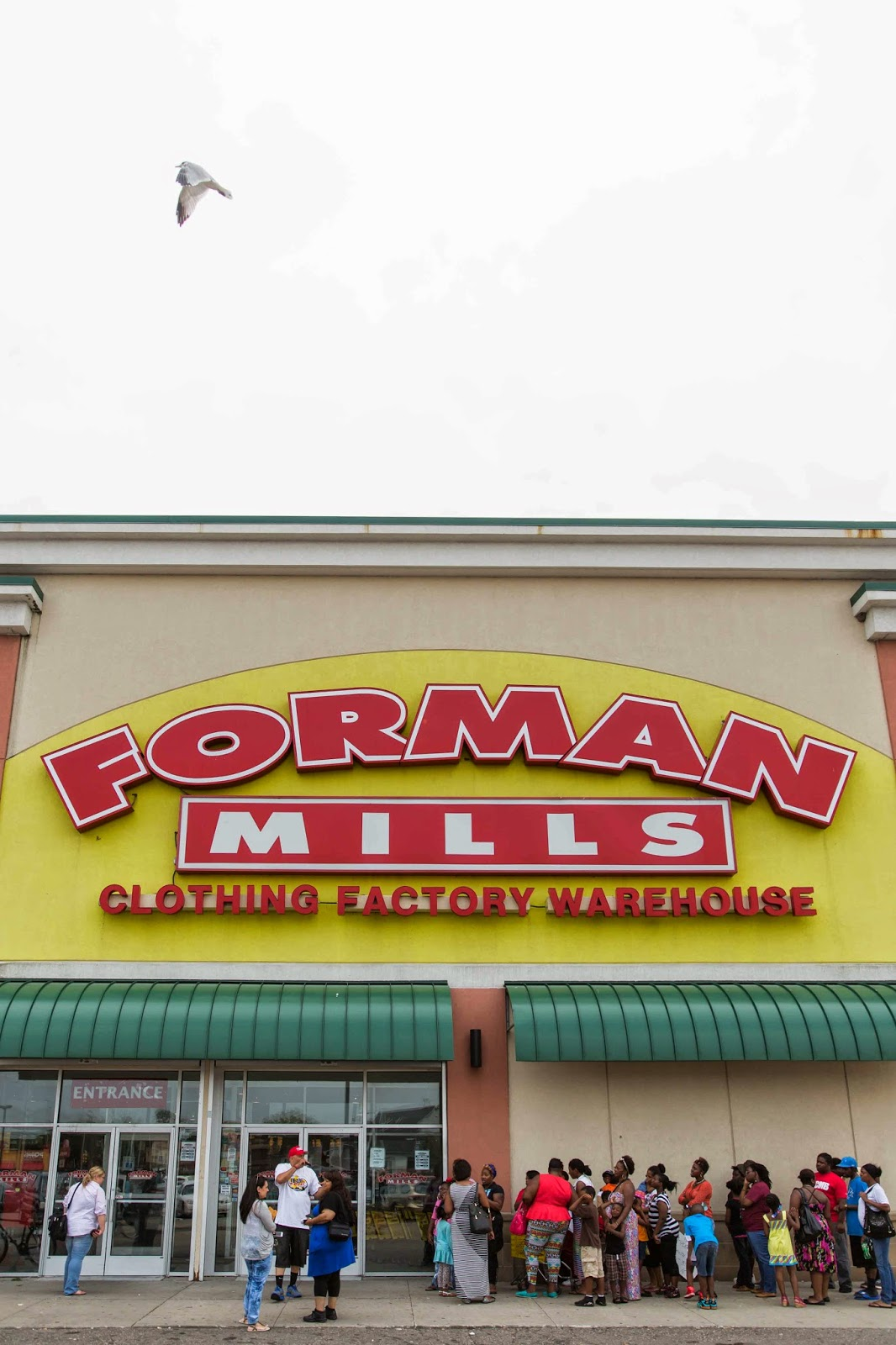 Forman mills clothing store prices