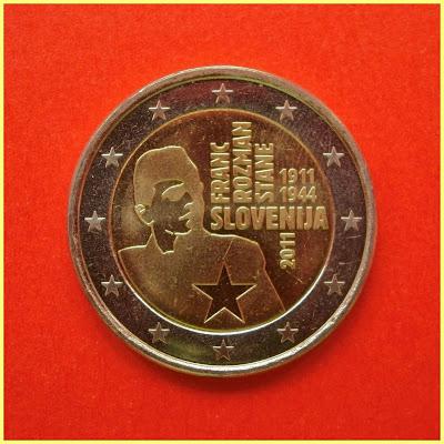 2 Euros Eslovenia 2011 Stane