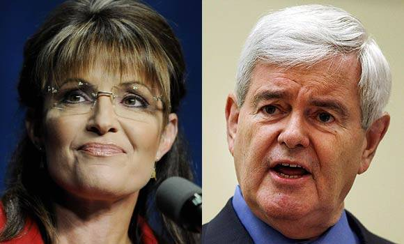 Palin and Gingrich
