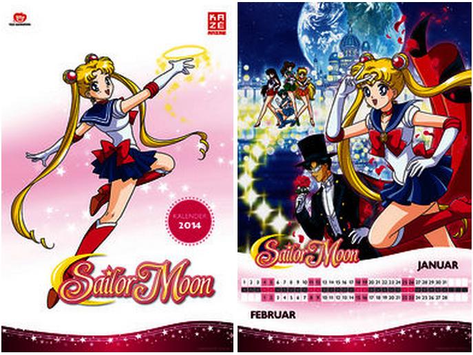 Neues Sailor Moon Merch. - Seite 2 Kalender