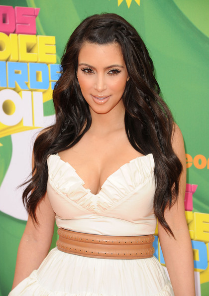 kim kardashian hair color 2011. tattoo kim kardashian hair