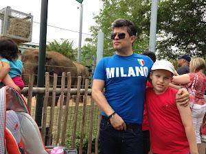 La Zoo Garden în Houston - în Hermann Park