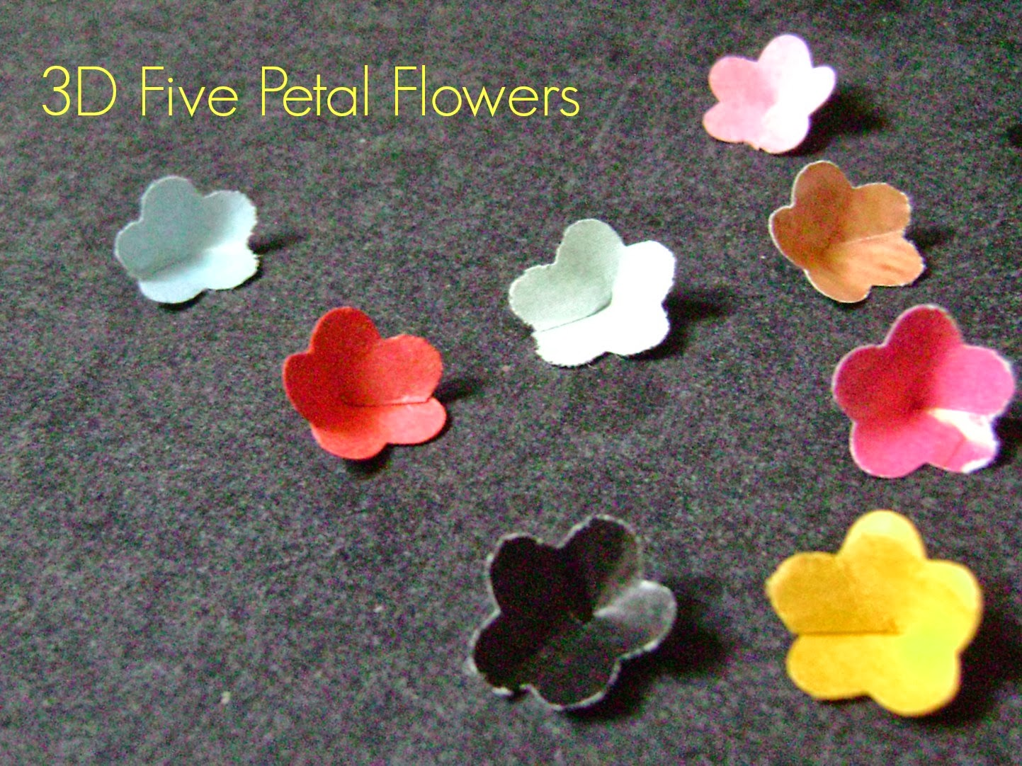 Easy Paper Flower Tutorial Yelomphonecompany