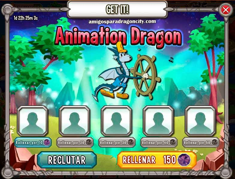 imagen del dragon animacion gratis de dragon city