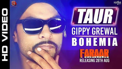 Taur - BOHEMIA x Gippy Grewal x Ikka (Official Video) Faraar Punjabi movie