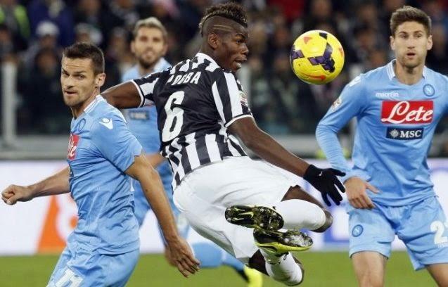 Napoli vs Juventus Italian Serie A