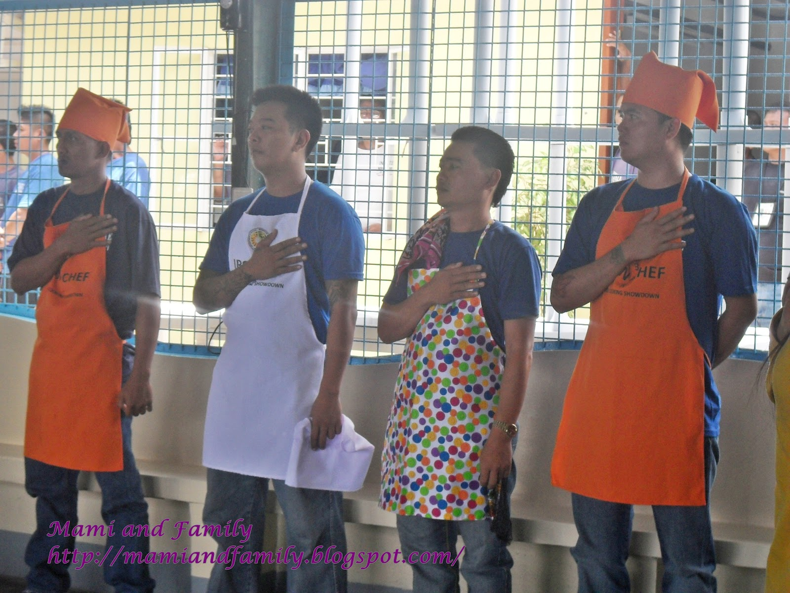 "bilibid experience Parole in adult prisons experience conditions that violate  prisoners in new  bilibid prison in the philippines have taken part in ""iron bar chef"",."