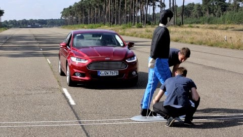 Pre-Collision Assist with Pedestrian Detection Helps Ford Customers Avoid Frontal Crashes