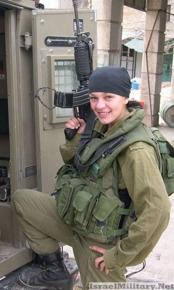 israel+military+women+girl
