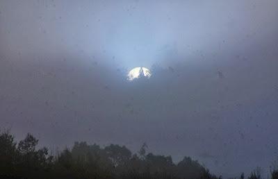 The sun rising in Sotaro