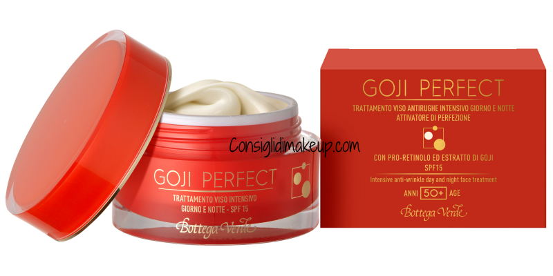 novità viso bottega verde goji perfect