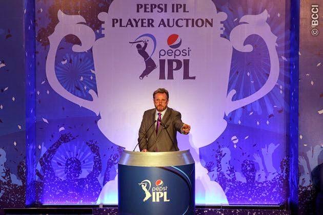 Pepsi IPL Player Auction 2015