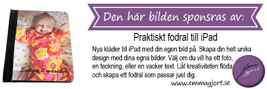 Fodral till iPad med foto från emmagjort.se