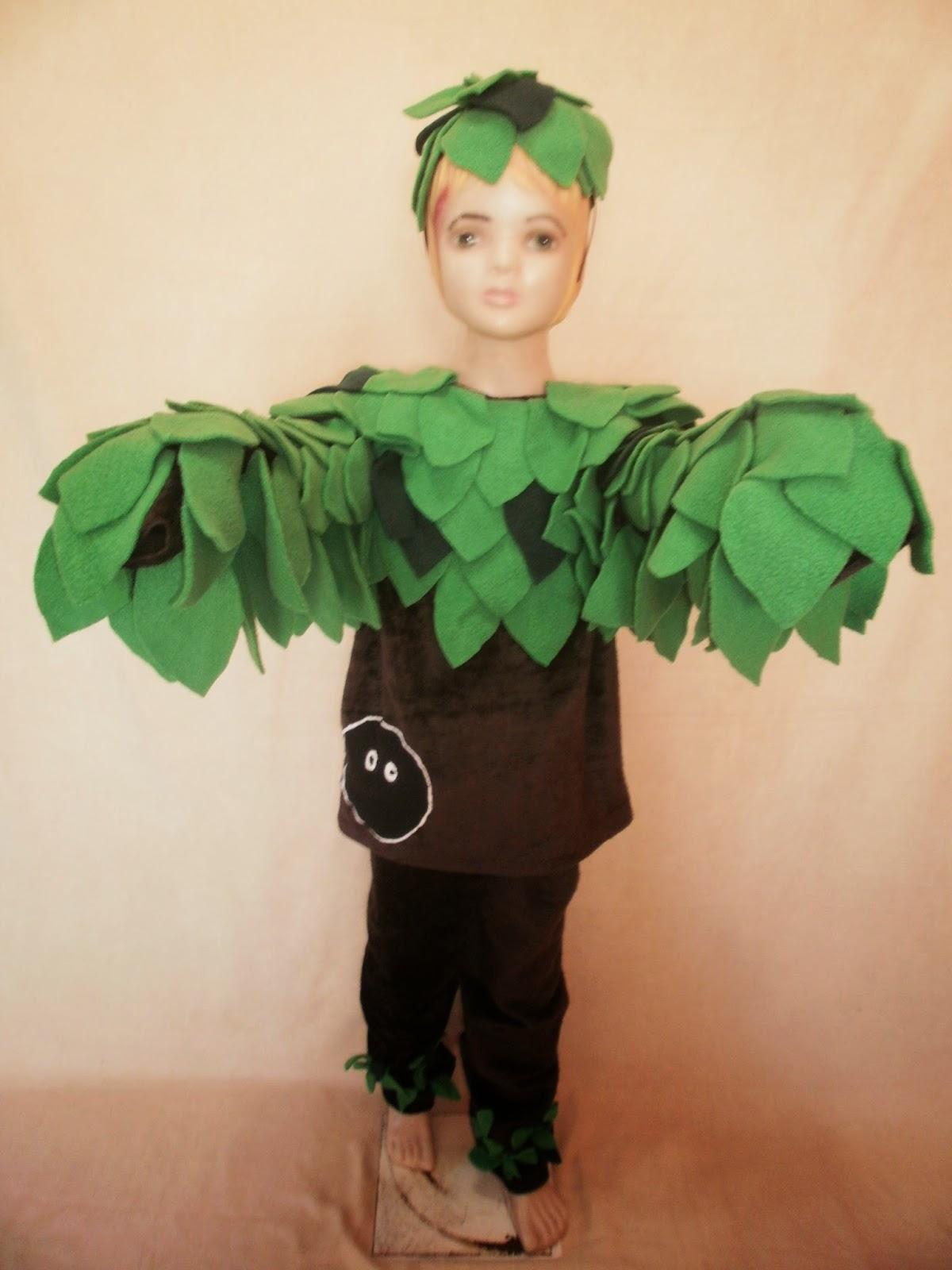 Disfraces de arboles para niños - Imagui