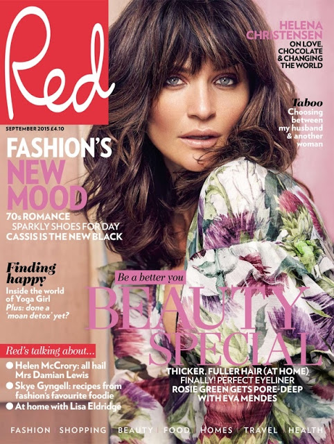 Fashion Model @ Helena Christensen for Red September 2015