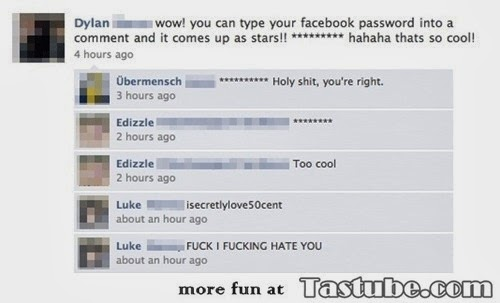 How to get friends facebook password
