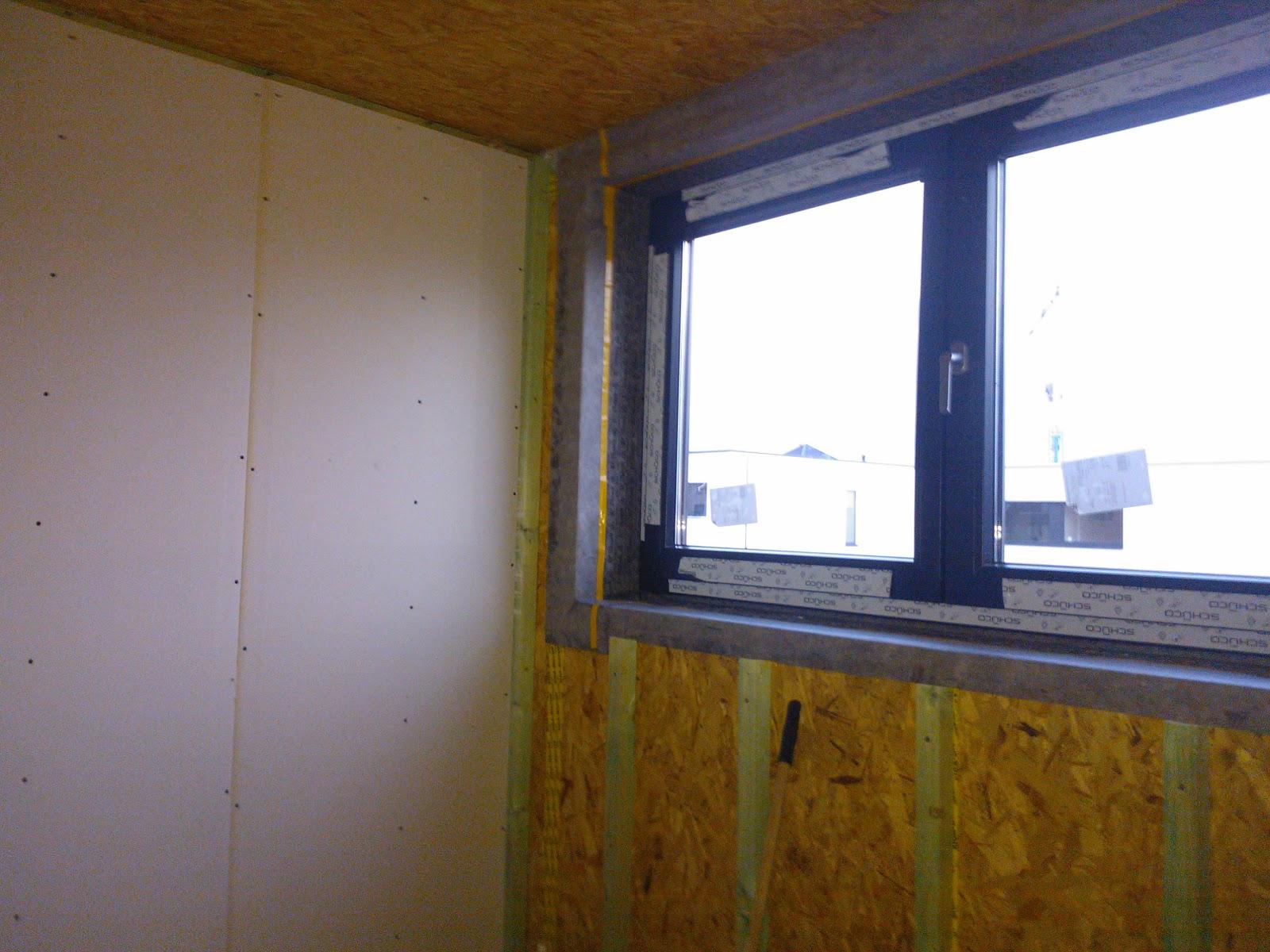 Badkamer Ventilator Test : Houtskeletbouw met qbuild: gyproc plaatsen op binnenmuren