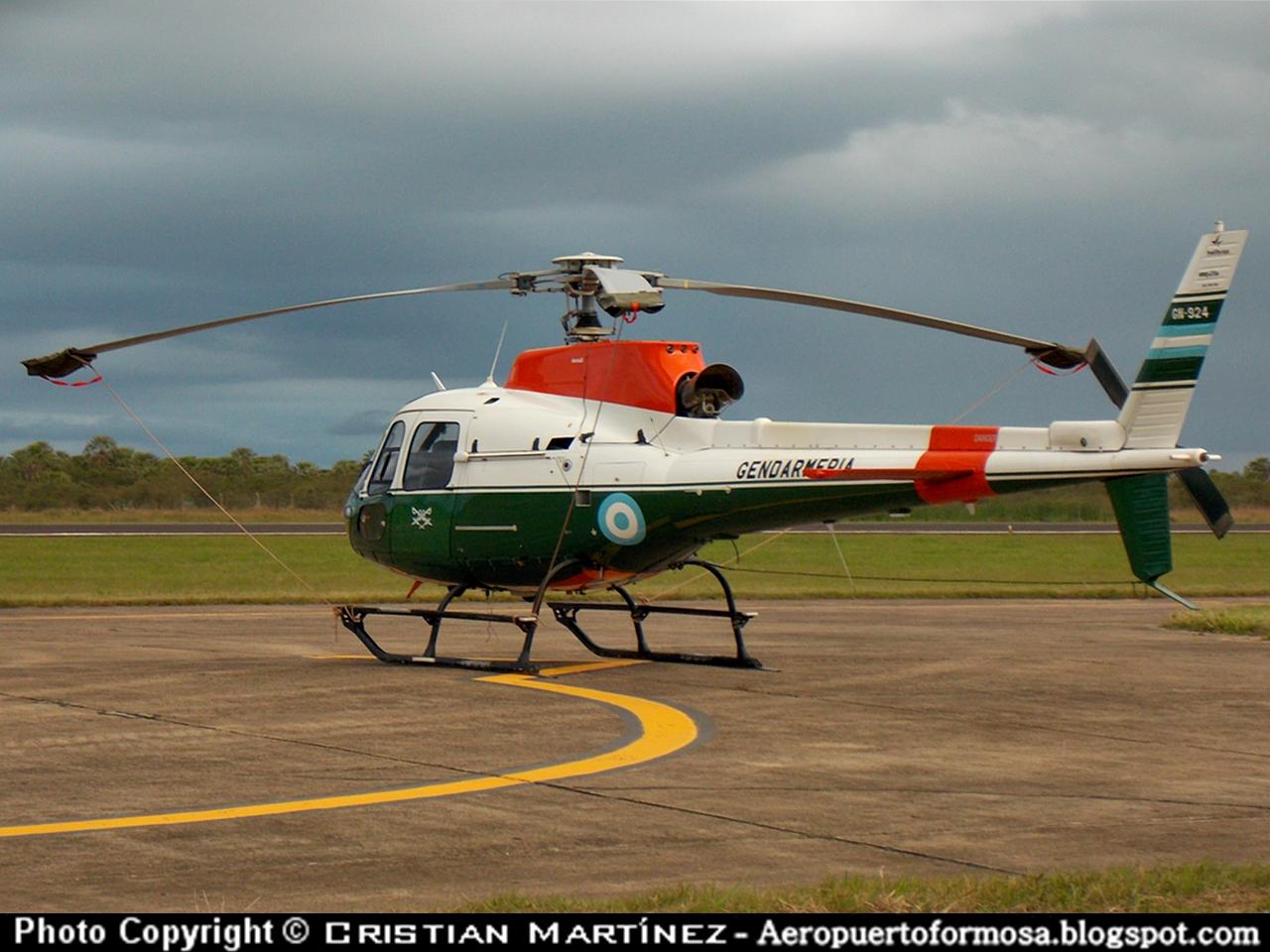 Helicópteros en El Pucú