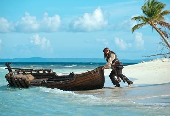 película Piratas del Caribe 4
