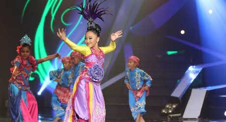 Profil Sandrina IMB, Pemenang Indonesia Bencari Bakat (3) 2013