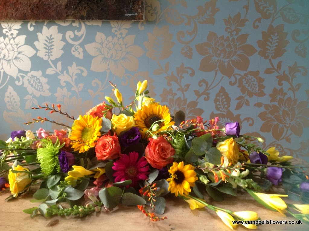 how to keep cut sunflowers from drooping