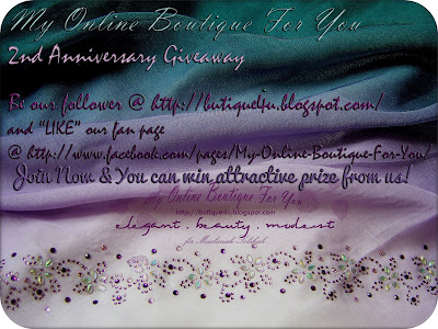 2nd Anniversary My Online Boutique Giveaway