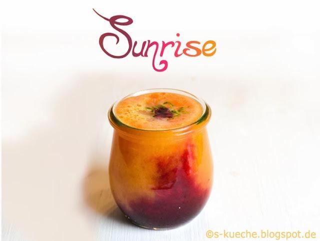 Obst Gemüsesaft Winter Sunrise