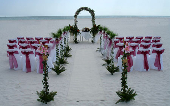 Wedding inspiration center stunning beach