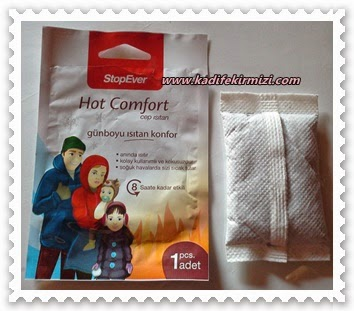 Stop Ever Hot Comfort Cep Isıtan