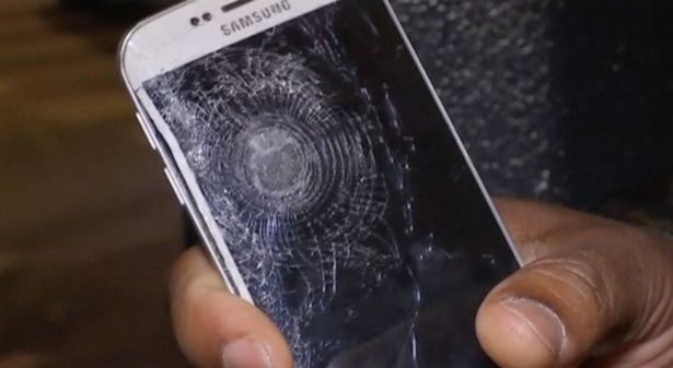 The phone that saved a man's life in paris attack