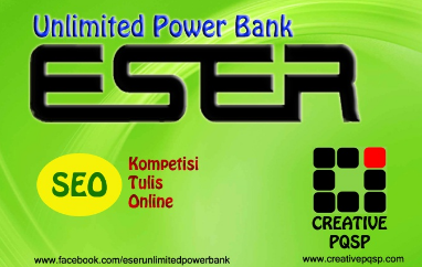 ESER Unlimited Power Bank, jual power bank, power bank charger, portable charger