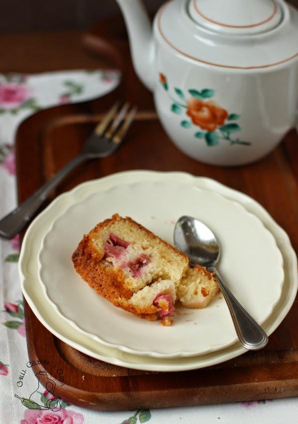 ciasto rabarbar przepis