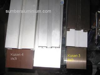 Ukuran Kusen Almunium Alexindo