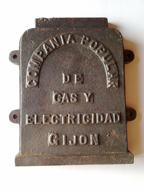 Tapa Registro Compañía Popular Gas y Electricidad