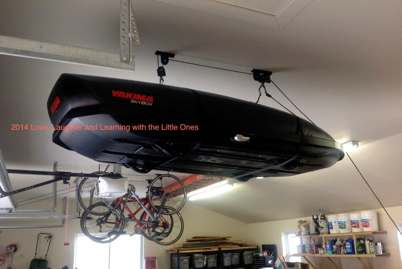 DIY Roof-Mount Cargo Box Lift & Love Laughter and Learning with the Little Ones: DIY Roof-Mount ...