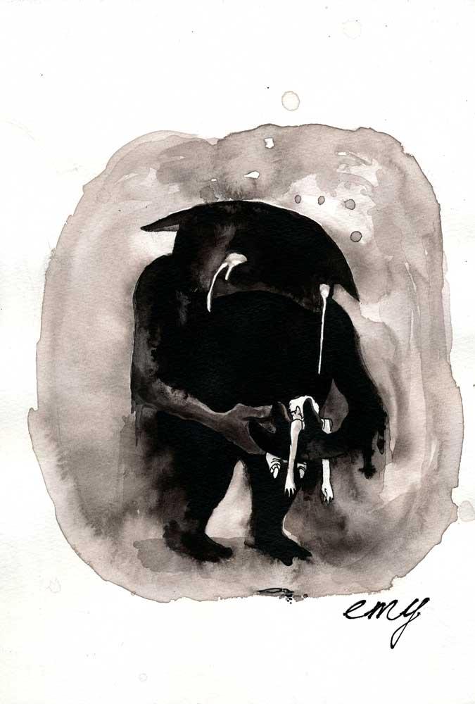 Super Emy, illustration, BD: Tâche d'Encre TH23