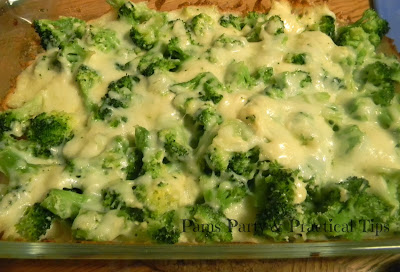 recipe for cheesy broccoli dip