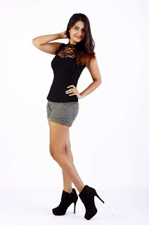 Neha Deshpande in lovely Shorts and T Shirt Spicy Pics