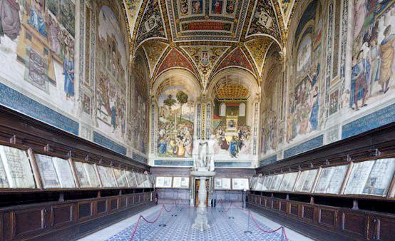 libreria piccolomini, foto dal web