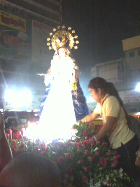 Close encounter with Our Lady of Antipolo