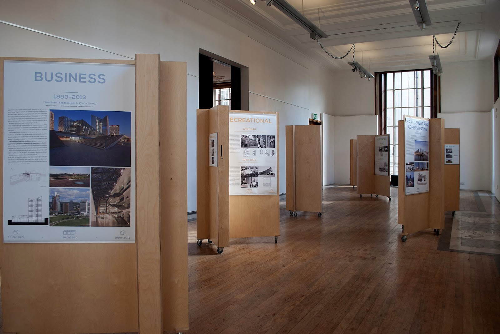 riba exhibition: lithuanian architecture