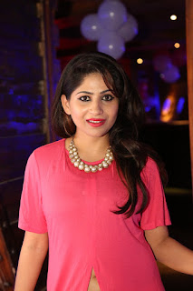 Madhulagna Das in a long Pink Shirt at Femmis Club Launch