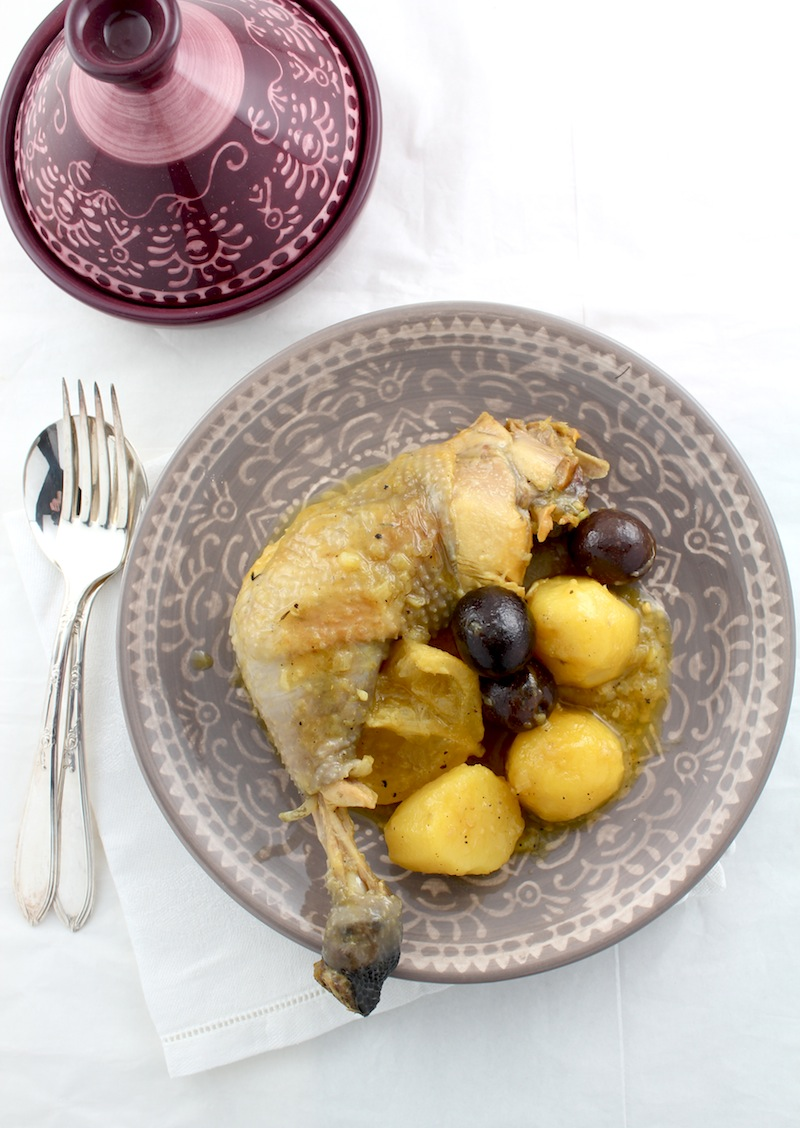 Moroccan Chicken Tagine With Olives And Preserved Lemons Recipes ...