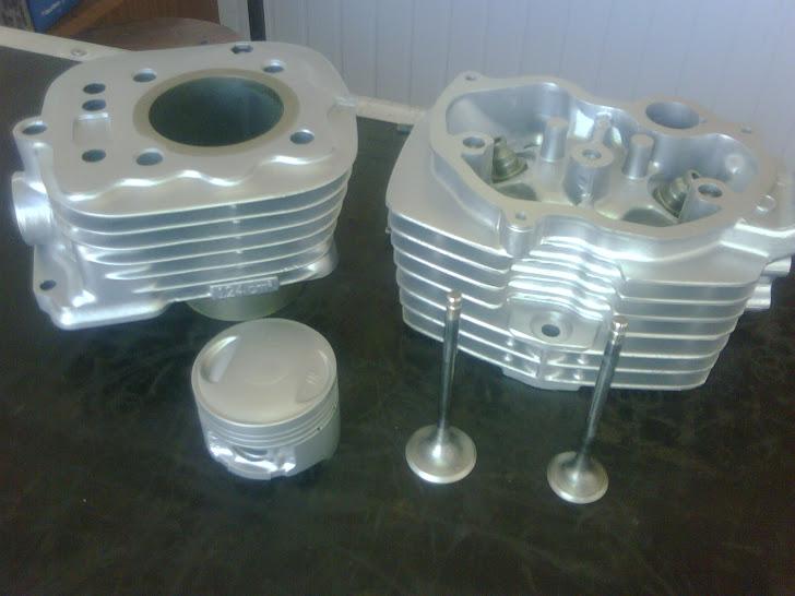 Cabeçote e cilindro