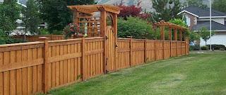 Деревянный забор. Фото 35
