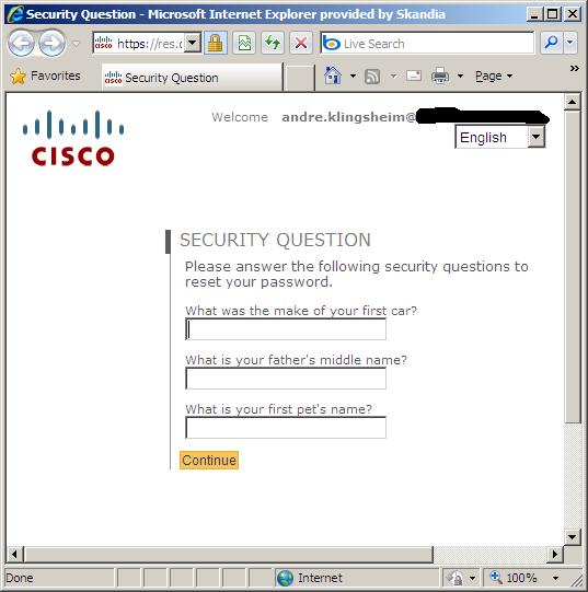 questions understanding password profiles settings