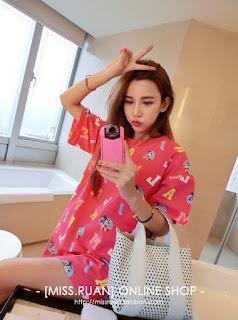 Kaos Cewek Korea Model Terbaru